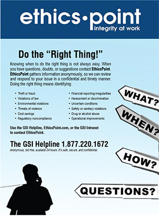 GSI Helpline Poster